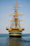 Amerigo Vespucci in Odessa, Ukraine Royalty Free Stock Photo