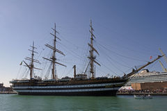Amerigo Vespucci ship Royalty Free Stock Photo