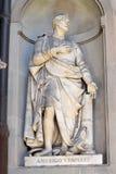 Amerigo Vespucci statue by Gaetano Grazzini, Florence Royalty Free Stock Photos