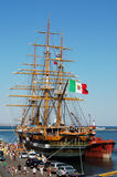 Amerigo Vespucci tall ship Royalty Free Stock Photos
