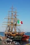 Amerigo Vespucci tall ship royalty free stock photos