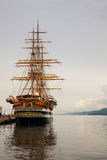 Amerigo Vespucci is a tall ship of Italy navy Royalty Free Stock Images