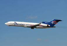 Amerijet Boeing 727 cargo airplane Royalty Free Stock Photography