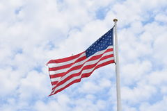 Amerika är vad frihet betyder Arkivbilder