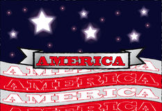 Amerika Royalty-vrije Stock Afbeelding