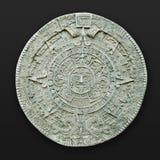 Amerika aztec kalenderlatin Arkivfoton