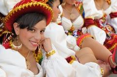 Amerika bolivia fiesta södra sucre Arkivfoton