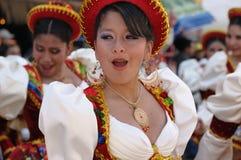 Amerika bolivia fiesta södra sucre Royaltyfri Bild