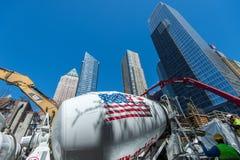 Amerika byggnad Royaltyfri Fotografi