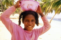 AMERIKA CARIBBIAN HAVSDOMINIKANSKA REPUBLIKEN Arkivfoto