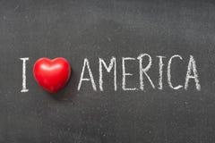 Amerika förälskelse Royaltyfria Foton