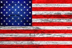 Amerika-Flagge Stockfoto