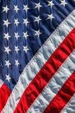 Amerika-Flagge mit dem Stern lizenzfreie stockfotografie