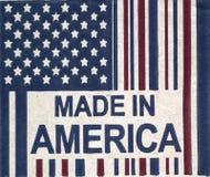 Amerika gjorde Royaltyfria Foton