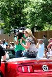 Amerika-Idol Lauren 2011 Alania Lizenzfreies Stockbild
