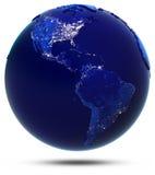 Amerika kontinent och länder Royaltyfria Foton