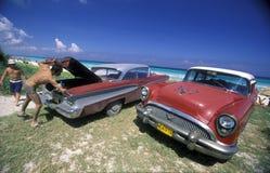 AMERIKA KUBAVARADERO STRAND Royaltyfri Bild