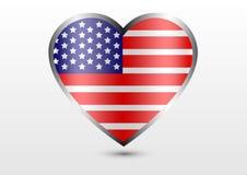 Amerika-Liebesland Stockbilder