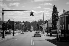 Amerika liten stad Fotografering för Bildbyråer