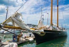 Amerika 2 skonare, Key West, Florida, USA Arkivbild