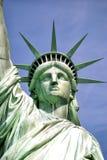 Amerika-standbeeld van vrijheid-vrijheid eiland stock fotografie