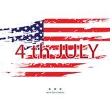 Amerika tillstånd förenade 4th dagsjälvständighet juli vektor 10 stock illustrationer