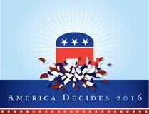 Amerika 2016 Wahlen Stockfotografie