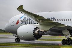 Amerikaan 787-8 Royalty-vrije Stock Fotografie