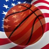 Amerikaans Basketbal Stock Afbeelding