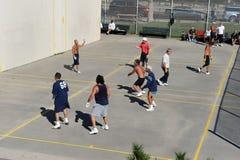 Amerikaans Handbal stock foto