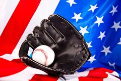 Amerikaans honkbal Stock Afbeeldingen