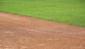 Amerikaans honkbal in-gebied Stock Fotografie