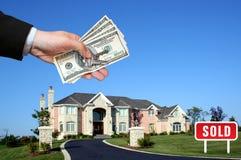 Amerikaans huis Stock Afbeeldingen