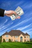 Amerikaans huis Stock Afbeelding