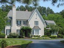 Amerikaans huis Royalty-vrije Stock Afbeeldingen