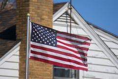 Amerikaans Huis 1 royalty-vrije stock afbeeldingen