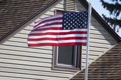 Amerikaans Huis 2 royalty-vrije stock afbeelding