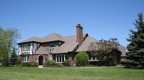 Amerikaans huis voor verkoop Royalty-vrije Stock Foto