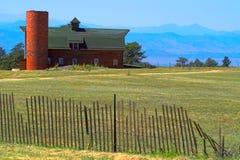 Amerikaans Landbouwbedrijf Stock Afbeeldingen