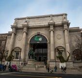 Amerikaans Museum van Biologie in New York - New York, de V.S. Stock Afbeeldingen