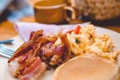 Amerikaans ontbijt stock afbeeldingen