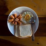 Amerikaans ontbijt Stock Foto