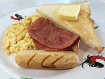 Amerikaans ontbijt Royalty-vrije Stock Afbeelding