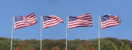 Amerikaans panorama stock foto