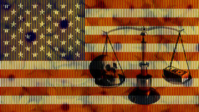 Amerikaans Saldo Royalty-vrije Stock Fotografie