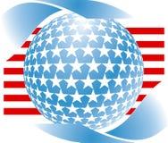Amerikaans symbool Royalty-vrije Illustratie
