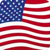 Amerikaans (vector) royalty-vrije illustratie