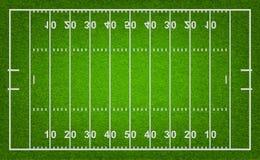 Amerikaans voetbalgebied Vector illustratie Stock Afbeeldingen