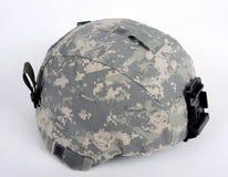 Amerikaanse ACH (de Geavanceerde Helm van het Gevecht). Stock Afbeeldingen