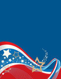 Amerikaanse Achtergrond Royalty-vrije Stock Afbeelding